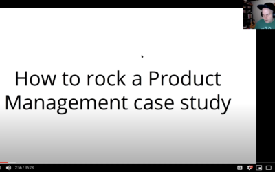 How to approach a product management case study